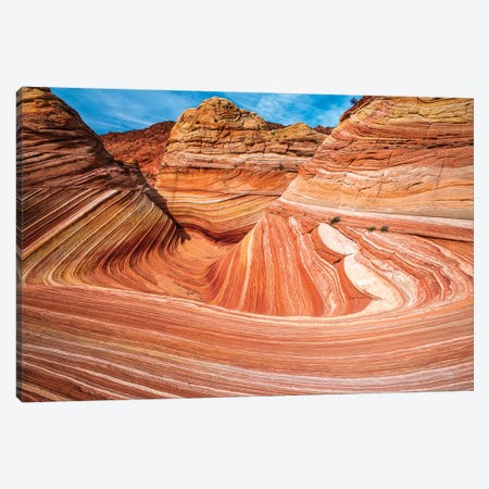The Wave, Coyote Buttes, Paria-Vermilion Cliffs Wilderness, Arizona, USA Canvas Print #RBS132} by Russ Bishop Canvas Art