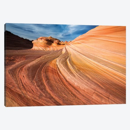The Wave, Coyote Buttes, Paria-Vermilion Cliffs Wilderness, Arizona, USA Canvas Print #RBS133} by Russ Bishop Canvas Wall Art