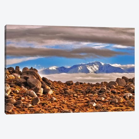 White Mountain from Buttermilk Country, Bishop, California, USA. Canvas Print #RBS137} by Russ Bishop Canvas Art Print