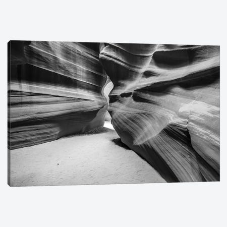 Slickrock formations in upper Antelope Canyon, Navajo Indian Reservation, Arizona, USA. Canvas Print #RBS146} by Russ Bishop Canvas Art