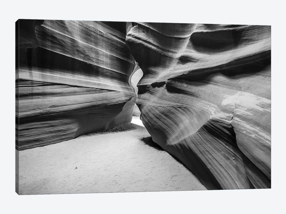 Slickrock formations in upper Antelope Canyon, Navajo Indian Reservation, Arizona, USA. by Russ Bishop 1-piece Canvas Artwork