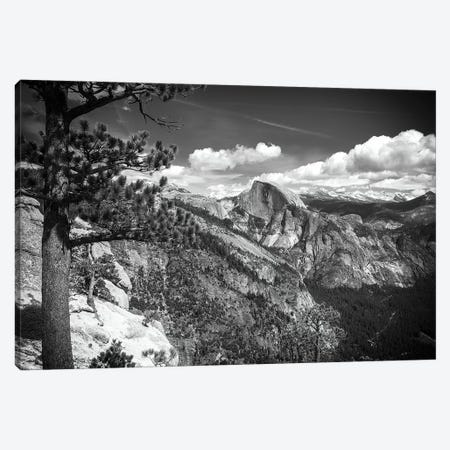 Half Dome from Yosemite Point, Yosemite National Park, California, USA Canvas Print #RBS14} by Russ Bishop Canvas Print
