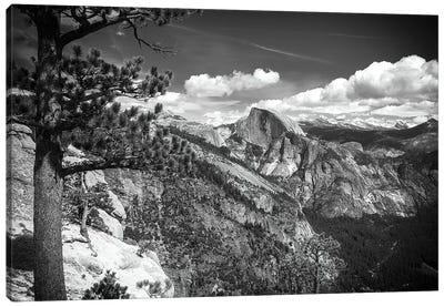 Half Dome from Yosemite Point, Yosemite National Park, California, USA Canvas Art Print