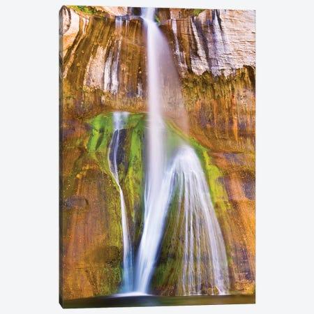Lower Calf Creek Falls, Grand Staircase-Escalante National Monument, Utah, USA Canvas Print #RBS15} by Russ Bishop Canvas Art Print