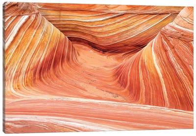 The Wave, Coyote Buttes, Paria-Vermilion Cliffs Wilderness, Arizona USA Canvas Art Print