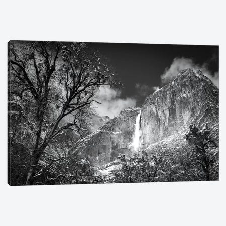 Yosemite Falls after a winter storm, Yosemite National Park, California, USA Canvas Print #RBS57} by Russ Bishop Art Print