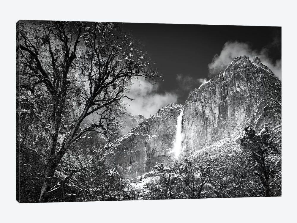 Yosemite Falls after a winter storm, Yosemite National Park, California, USA by Russ Bishop 1-piece Canvas Wall Art