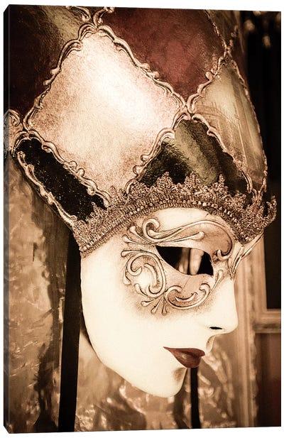 Carnival mask, Venice, Veneto, Italy Canvas Art Print