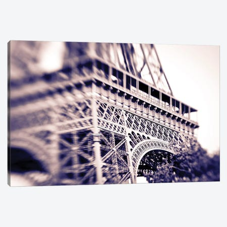 Detail of the Eiffel Tower. Paris, France Canvas Print #RBS8} by Russ Bishop Art Print
