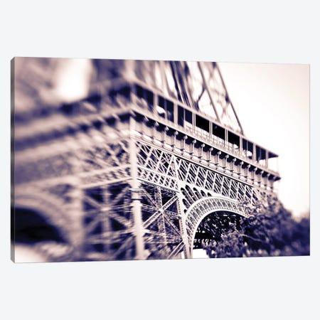 Detail of the Eiffel Tower. Paris, France Canvas Print #RBS8} by Russ Bishop Art Print