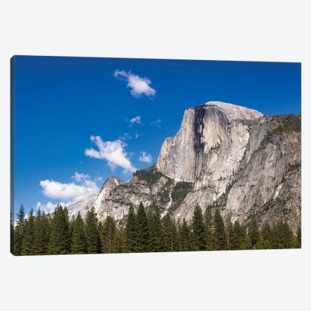 Half Dome, Yosemite National Park, California, USA Canvas Print #RBS96} by Russ Bishop Canvas Art Print