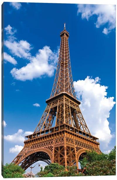 Eiffel Tower. Paris, France Canvas Art Print