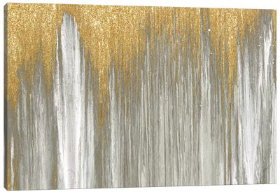 Gold Falls Canvas Art Print