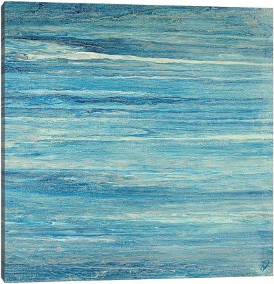 Aqua Pasiva Canvas Art Print