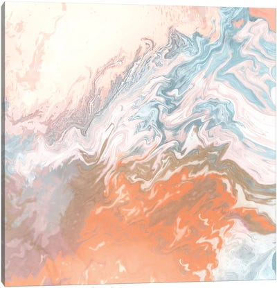 Earthly Agate Canvas Art Print