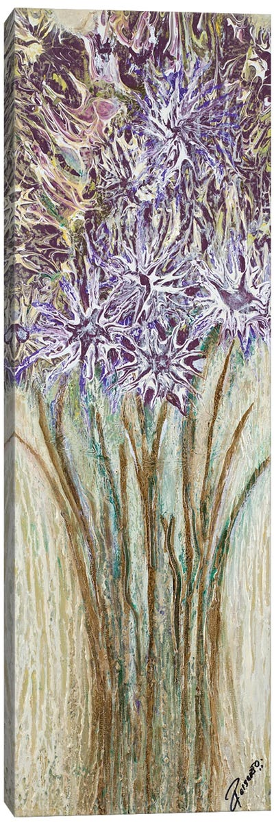 Lavender Strong I Canvas Art Print