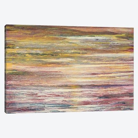 White Rapids at Sunset Canvas Print #RBT26} by Roberto Gonzalez Canvas Art Print