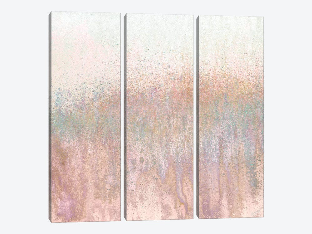 Blushing Woods by Roberto Gonzalez 3-piece Canvas Artwork