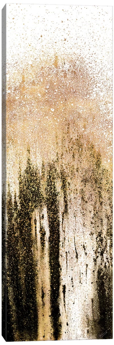 Golden Woods Canvas Art Print