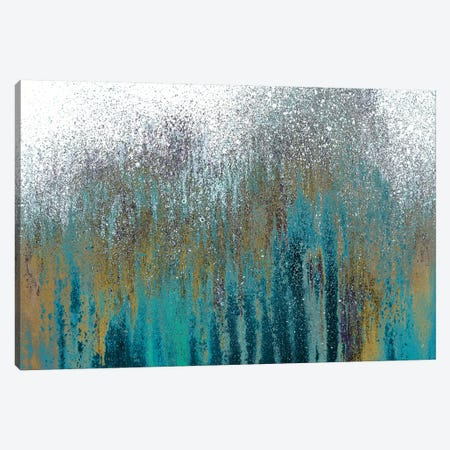 Teal Woods Canvas Print #RBT9} by Roberto Gonzalez Canvas Wall Art