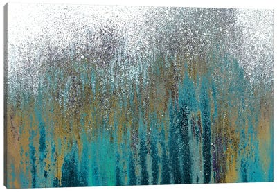 Teal Woods Canvas Art Print