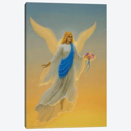 Morning Angel Canvas Print #RBU18} by Richard Burns Canvas Artwork