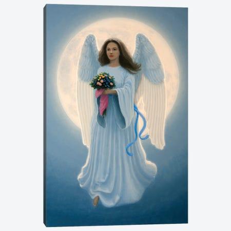 Moon Angel Canvas Print #RBU20} by Richard Burns Art Print