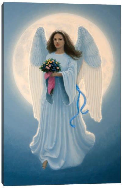 Moon Angel Canvas Art Print