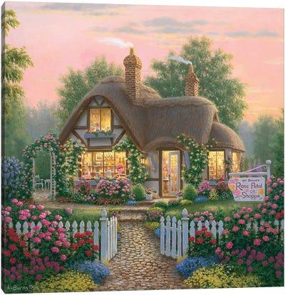 Rose Petal Gift Shoppe Canvas Art Print
