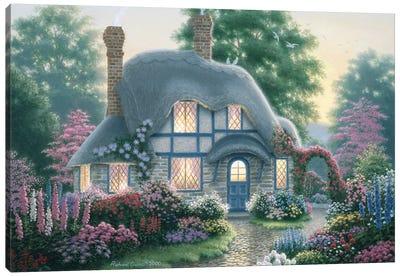 Twilight At Tilden Cottage Canvas Art Print