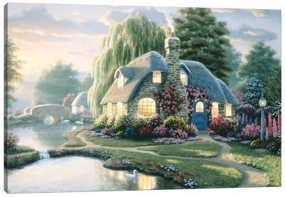 Poore's Pond Canvas Art Print