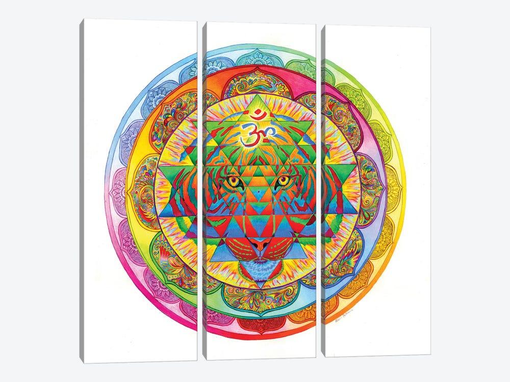 Inner Strength by Rebecca Wang 3-piece Canvas Artwork