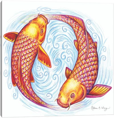 Pisces Canvas Art Print