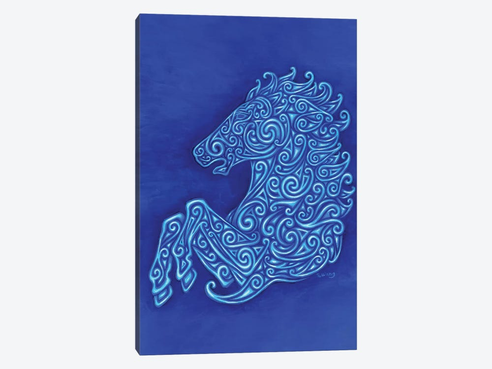 Celtic Horse by Rebecca Wang 1-piece Canvas Artwork