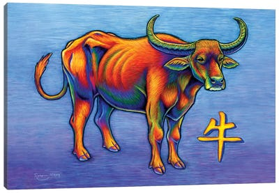 Year of the Ox by Rebecca Wang Canvas Art Print
