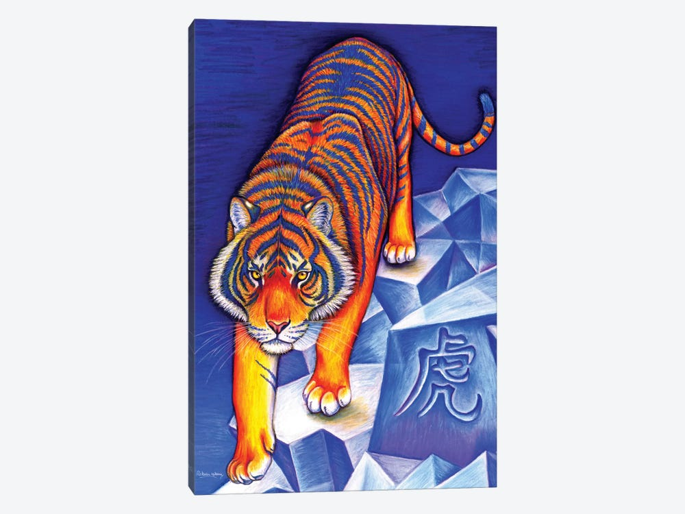 Year of the Tiger by Rebecca Wang 1-piece Canvas Print