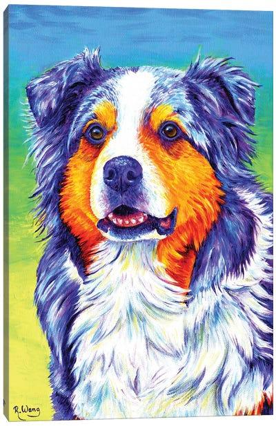 Alert Aussie Canvas Art Print
