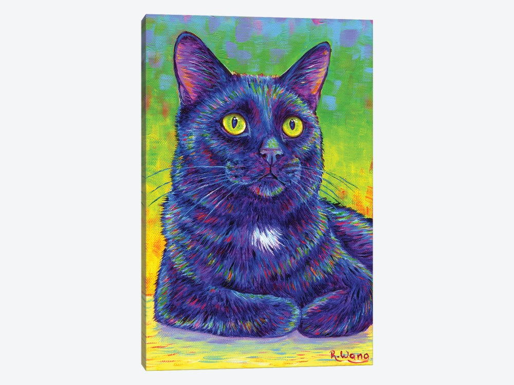 Little House Panther by Rebecca Wang 1-piece Canvas Art Print