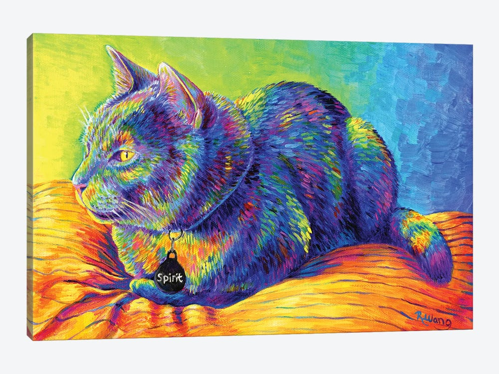 Psychedelic Spirit by Rebecca Wang 1-piece Canvas Art