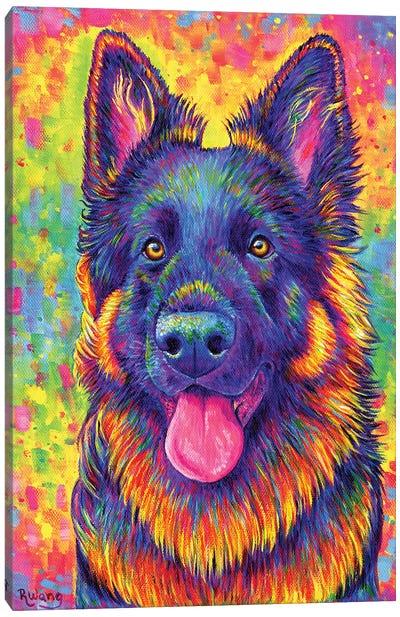 Luminescent Canvas Art Print