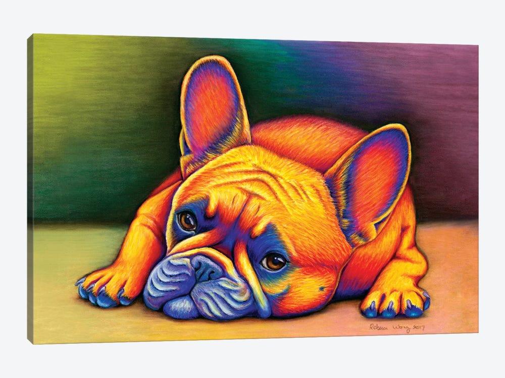 Daydreamer - French Bulldog by Rebecca Wang 1-piece Art Print