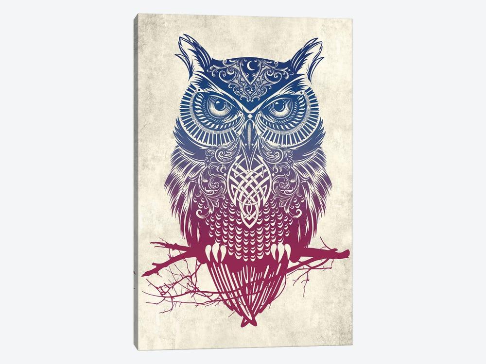 Warrior Owl by Rachel Caldwell 1-piece Canvas Art