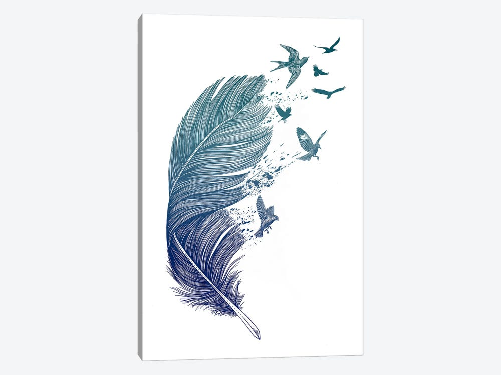 Fly Away by Rachel Caldwell 1-piece Canvas Art Print