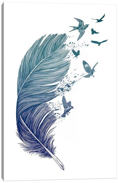 Fly Away Canvas Print #RCA1