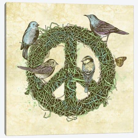 Peace Talks Canvas Print #RCA27} by Rachel Caldwell Canvas Print
