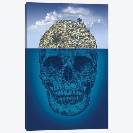 Skull Island Canvas Print #RCA29} by Rachel Caldwell Canvas Artwork
