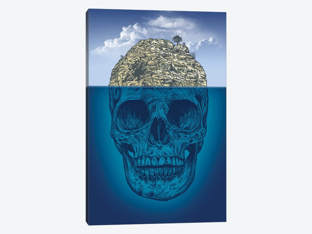 Skull Island by Rachel Caldwell 1-piece Art Print