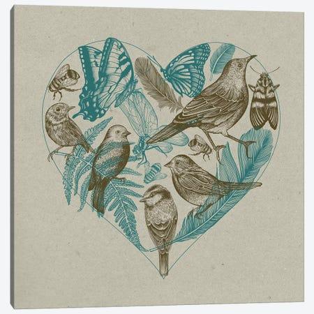 Wild Heart Canvas Print #RCA32} by Rachel Caldwell Canvas Print