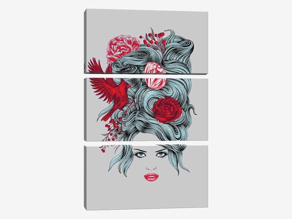 Winter Queen by Rachel Caldwell 3-piece Canvas Art