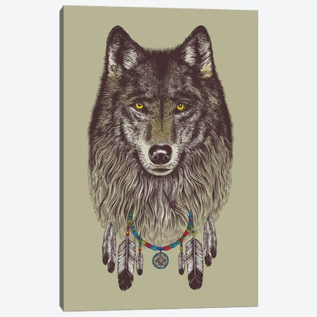 Wolf Dreams Canvas Print #RCA34} by Rachel Caldwell Canvas Art